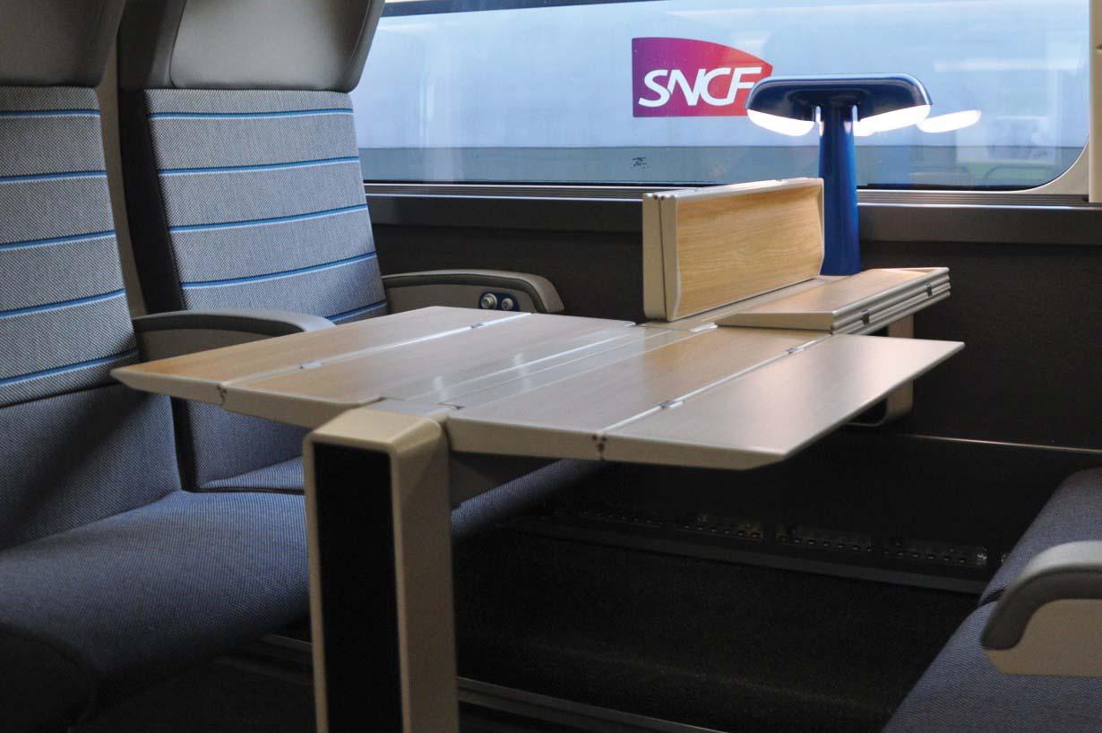 Tablette TGV OCEANE 2nde Classe